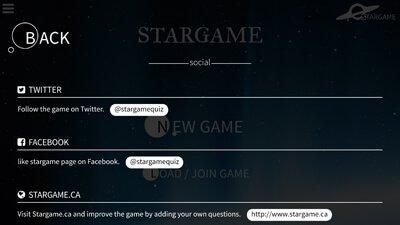 menu social links